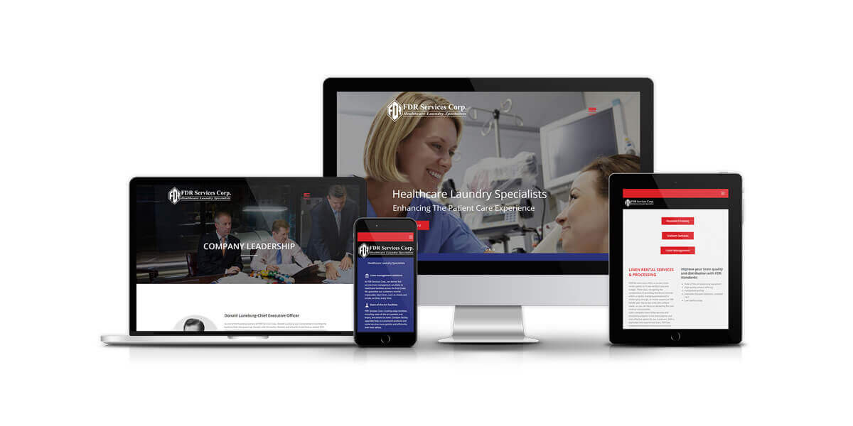 FDR Services Corp - Website Redesign