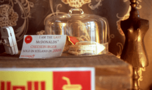 The Last McDonald's Cheeseburger Sold in Iceland
