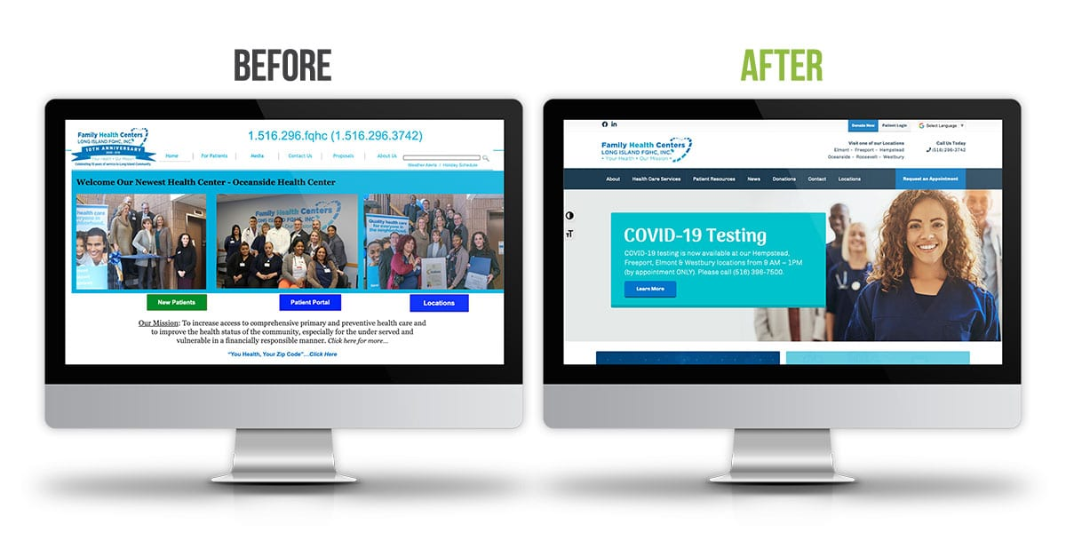 Before and After - Family Health Centers