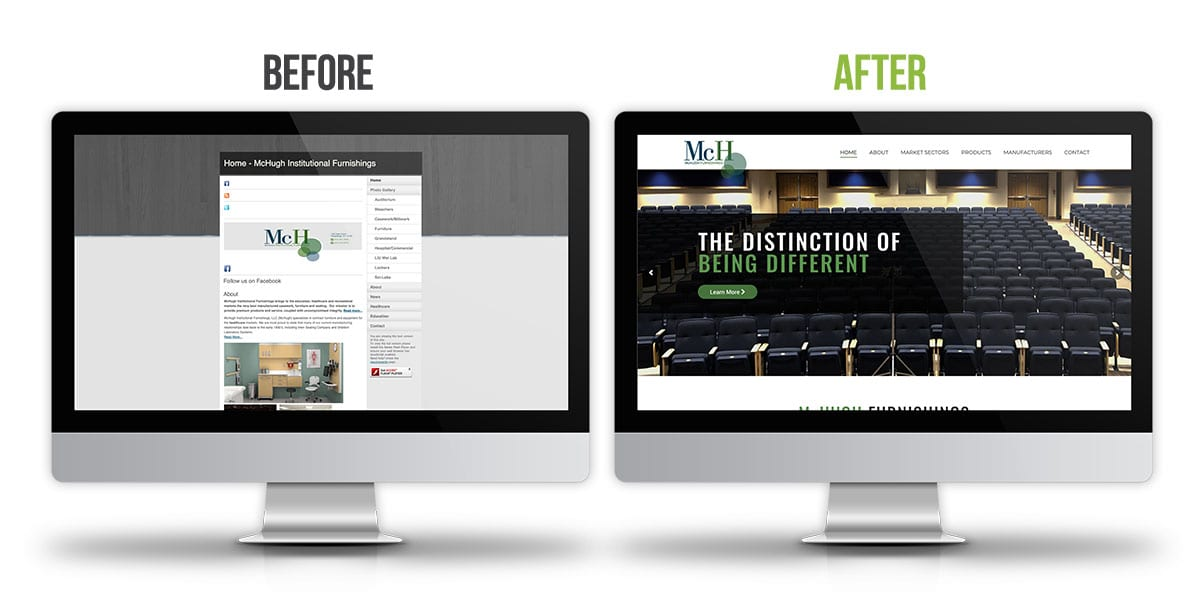 Before and After - McHugh Furnishings