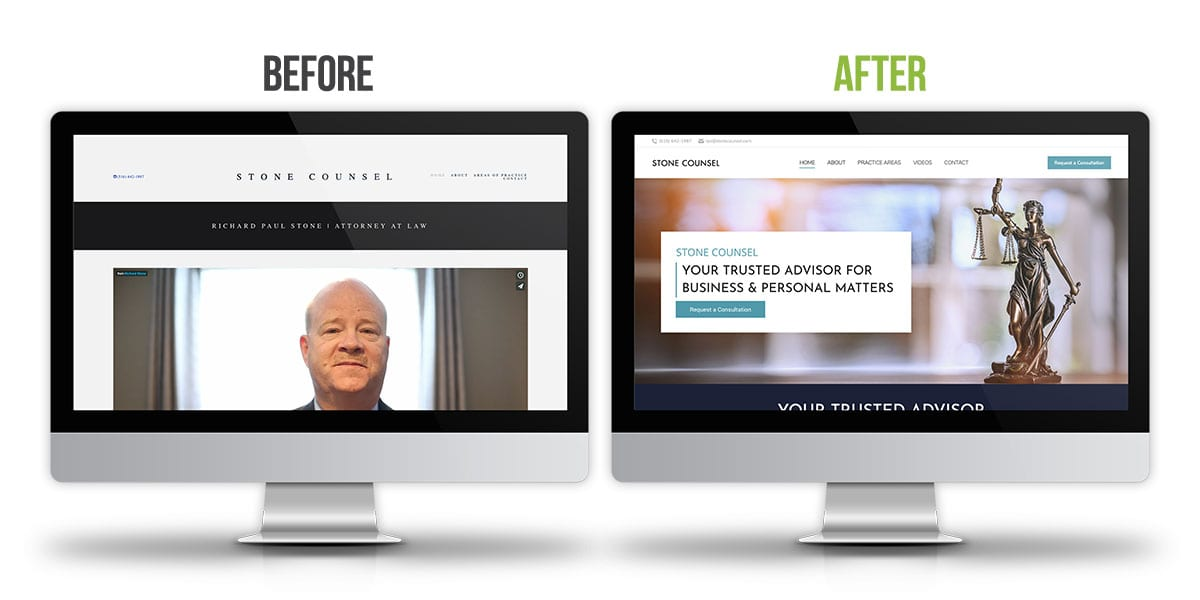Before and After - Stone Counsel
