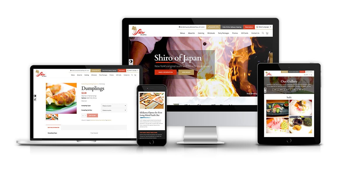 Shiro of Japan - Our Work Featured