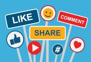 Forms of engagement on social media