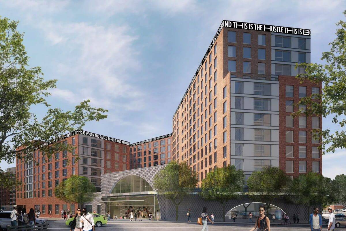 New mixed-use project