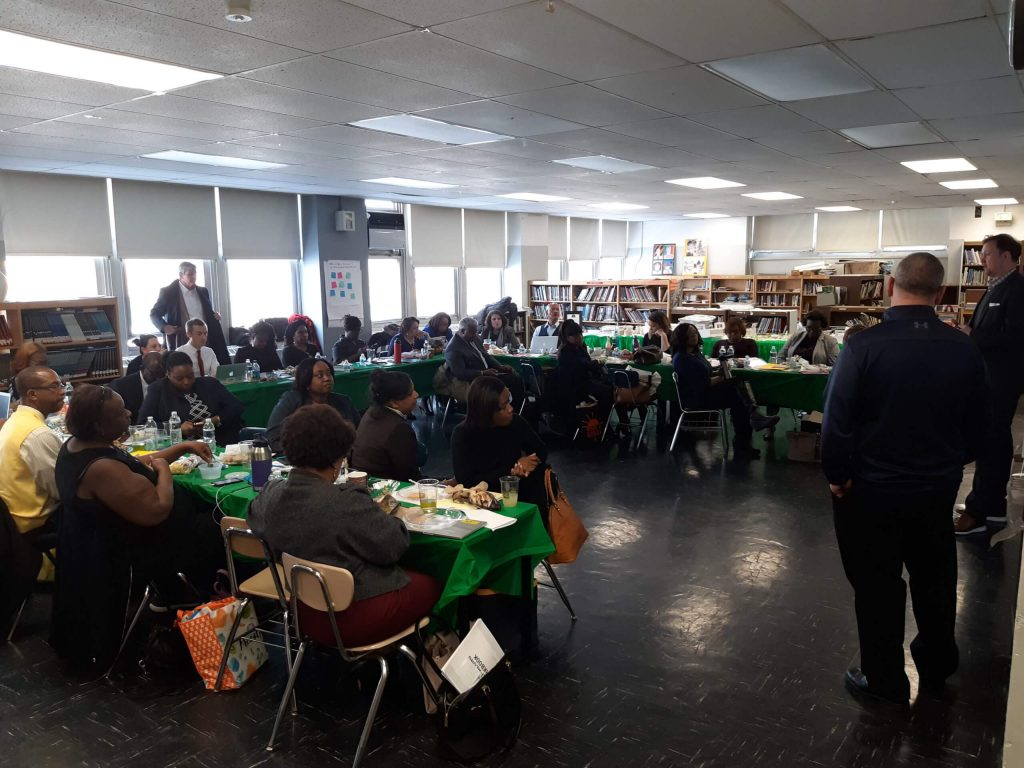 The Principal's Task Force addresses students