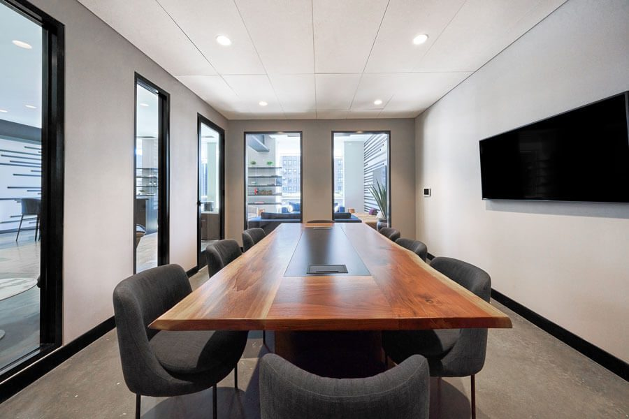 An Essex Crossing conference room