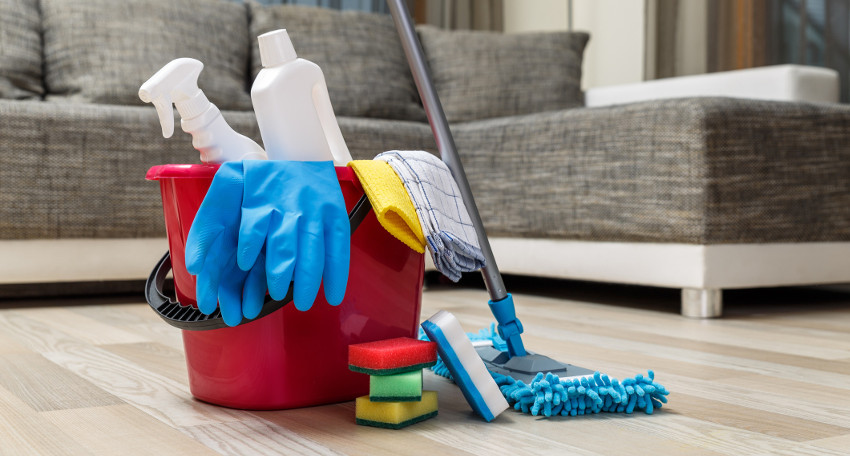 initial residential cleaning services