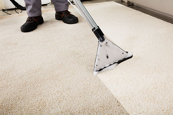 Our floor cleaning services include carpet cleaning.