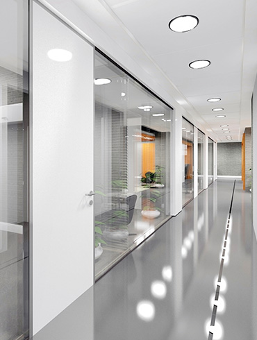 Antimicrobial spraying services protect walls and surfaces.