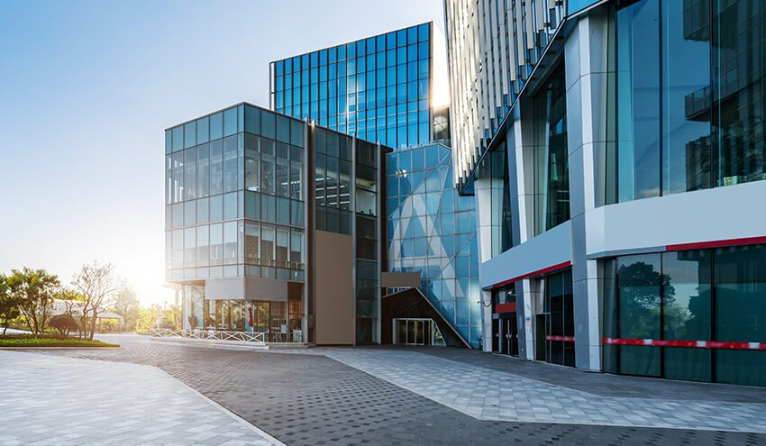 Our commercial cleaning services include buildings and offices