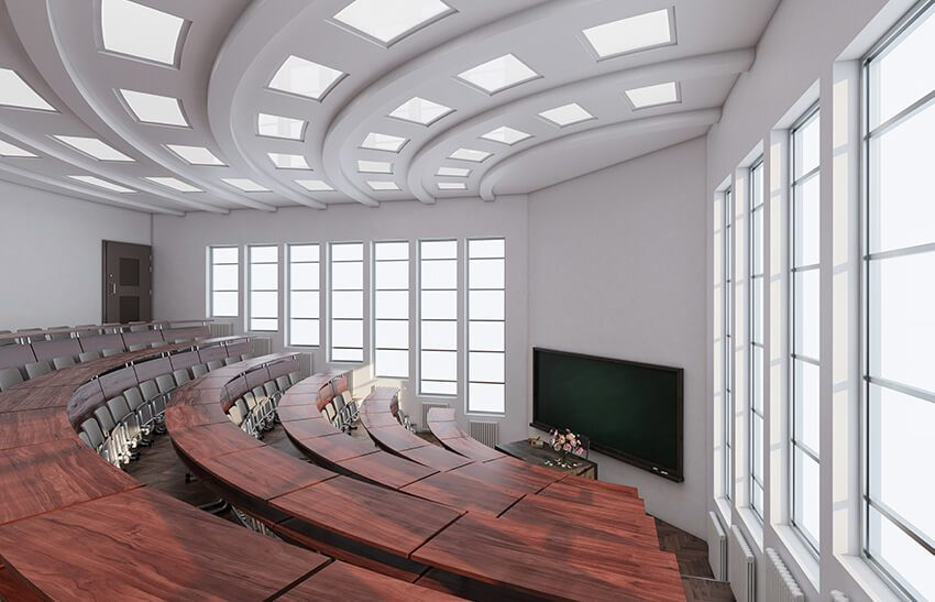 Our commercial cleaning services specialize in working with universities.